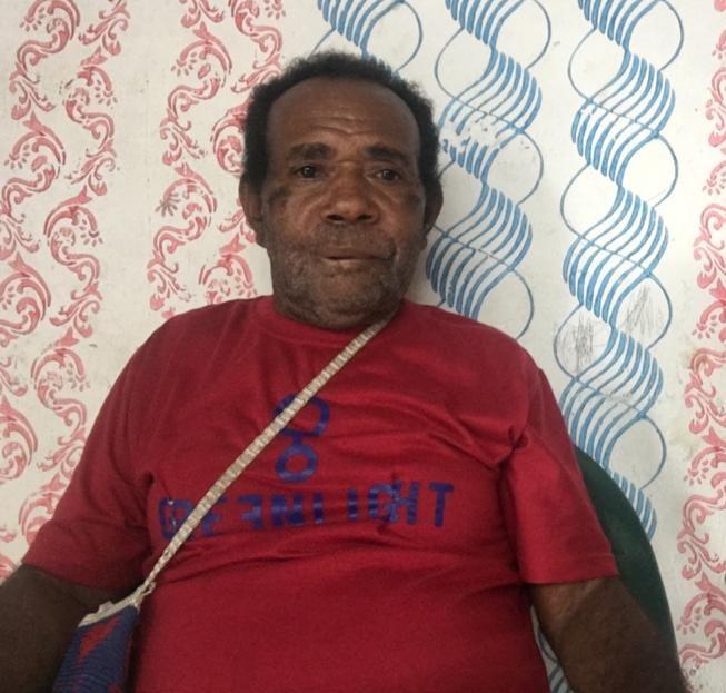 Yustinus Ullo (Kepala Kampung Umcen Distrik Warmare)