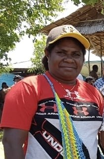 Siska Nauseni (Kepala Kampung Wanoma Distrik Kambrauw Kab. Kaimana)