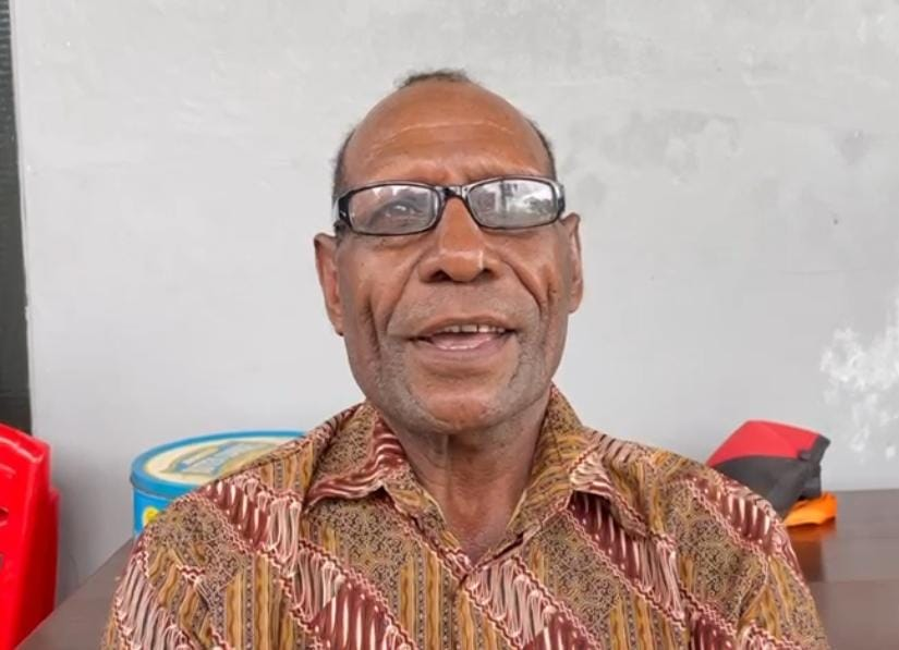 Anton Nanay (Kepala Suku Napiti Kaimana)