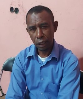 Jalil Usman Wugaje (Ketua Lembaga Kepemudaan Masyarakat Kokoda Wilayah Sorong Raya)