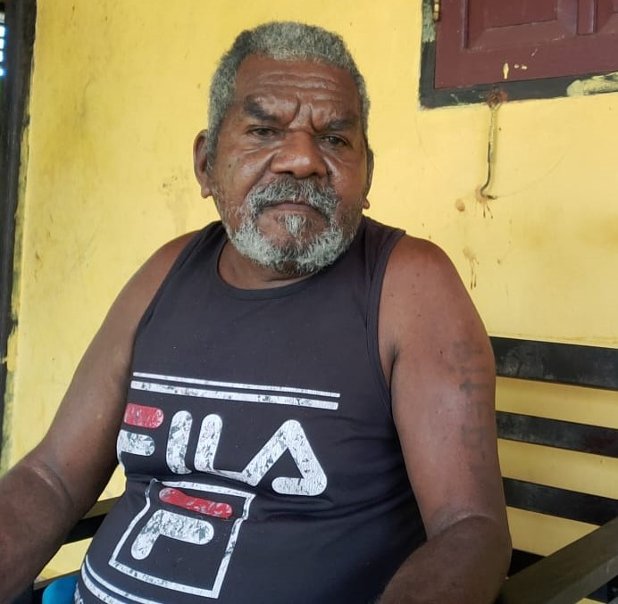 Piter Dowansiba (Kepala Kampung Indoduas Kab. Manokwari)