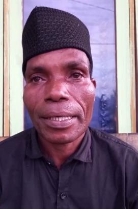 Abdul Gani Tagate (Tokoh Pemuda dan Tokoh Agama Kokoda Maibo Distrik Aimas)